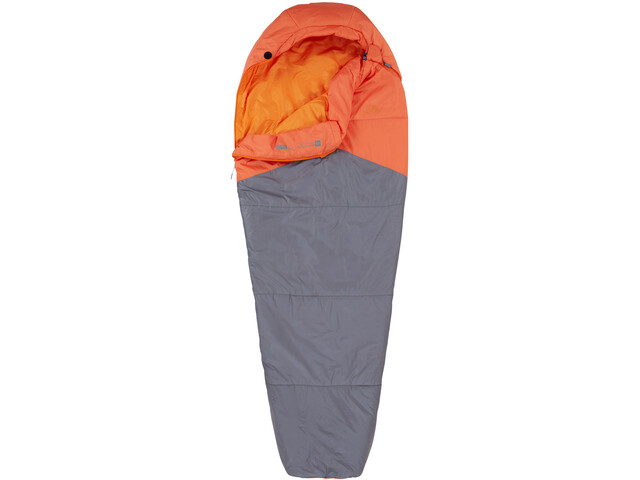 The North Face Aleutian 40/4 Sleeping Bag long, monarch orange/zinc grey
